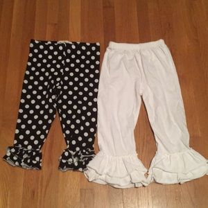 Other - Lot of two pairs ruffle pants